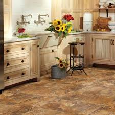 kitchen flooring ideas vinyl kitchens flooring idea realistique lava by mannington