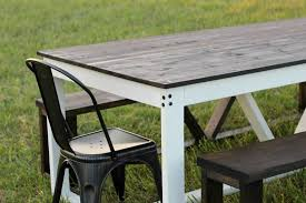 How To Build A Trestle Table 12 Free Diy Woodworking Plans For A Farmhouse Table