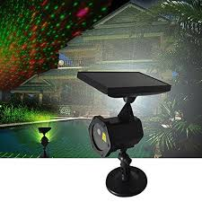 pueri solar light led projector red u0026 green outdoor christmas