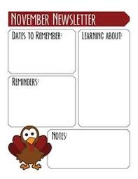 13 printable preschool newsletter templates free word pdf