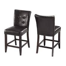 furniture of america lisle dark espresso 26 inch counter height