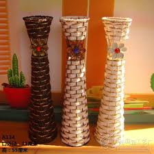 Wicker Vases Cheap Floor Vases 59cm Ceramic Gets The Vase The Ground Living