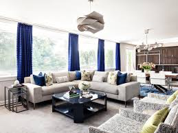 Upgrade White Curtains by 15 Blue Drapes And Curtain Ideas For A Stunning Modern Interior