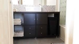 11 Ikea Bathroom Hacks New Uses For Ikea Items In The by Kallax Bathroom Vanity For Small Bathroom Ikea Hackers