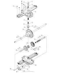 troy bilt 13bx60tg766 super bronco 2007 parts diagram for