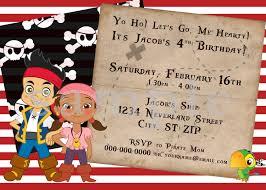 diy printable jake u0026 the neverland pirates birthday