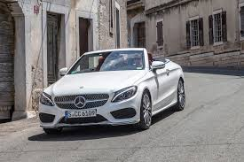 at mercedes usa 2017 mercedes c class cabriolet drive review