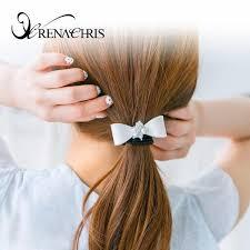 ribbon ponytail ponytail croiresg