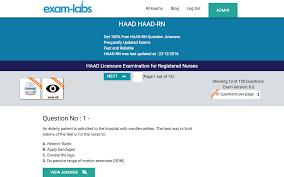 haad rn haad real exam questions 100 free exam labs