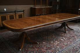 long dining room tables for sale foot dining table mahogany with self storing leaves seats for sale