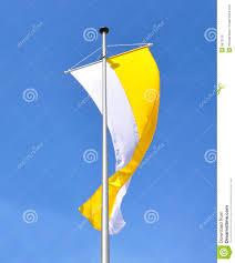 Church Flags Flag Of Catholic Church Stock Photo Image Of Catholic 9673120
