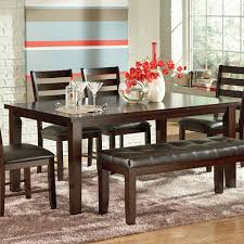 steve silver sao paulo 6 piece rectangular dining room set in steve silver sao paulo 6 piece rectangular dining room set in espresso