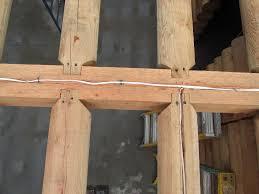 New Construction Jim Bridger Construction House Floor Joists Construction