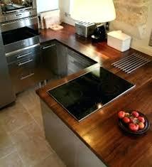 cuisine plan de travail bois massif plan de travail chene massif plan de travail bois massif cuisine et