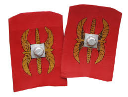 ideas for ks2 roman project make your own roman shield young archaeologists club