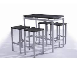 table de cuisine haute avec tabouret 38 luxe décor chaise haute bar inspiration maison cuisine salle