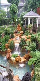 Backyard Waterfall Ideas Top 17 Brick U0026 Rock Garden Waterfall Designs U2013 Start An Easy
