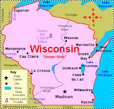 map usa states abbreviations wisconsin facts map and state symbols enchantedlearning
