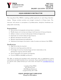 resume adjunct instructor resume