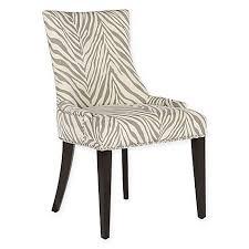 Zebra Dining Chairs Safavieh Becca Zebra Dining Chair In Grey Bed Bath Beyond