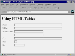 design a html table special edition using html 2nd edition chapter 22