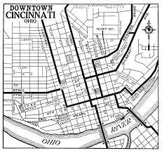 Map Cincinnati Ohio City Maps At Americanroads Us