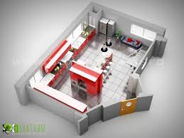 Studio Plan by Studio Kitchen 3d Floor Plan Design Sydeny Australia Plantas
