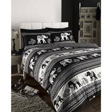 Original Duvet Covers Portfolio Empire Oriental Elephant U0026 Paisley Print Duvet Cover Set