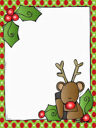secret santa rudolph border u2013 merry christmas u0026 happy new year arts