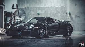 Porsche 918 Dark Blue - porsche 918 u201cthe dark knight u201d front side view 2 sssupersports