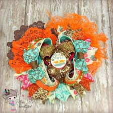 thanksgiving hair bows 363 best fall hairbows images on hairbows