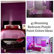 45 stunning bedroom purple paint colors ideas wartaku net