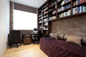 london contemporary daybed covers home office with wood floor gray