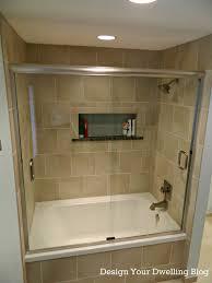 walk in bathroom ideas bathroom small ideas with walk in shower sloped ceiling deck