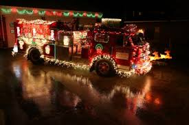 Fire Trucks Decorated For Christmas Best Christmas Light Displays Parenting