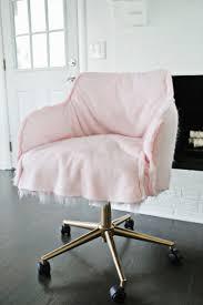 Pink Fur Chair White Fluffy Desk Chair Home Chair Decoration
