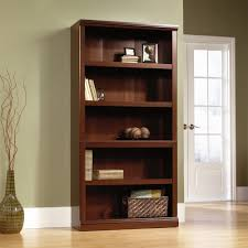 5 Shelf Ladder Bookcase by Sauder 5 Shelf Bookcase Cherry Bobsrugby Com