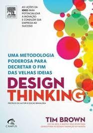 design foto livro design thinking uma metodologia poderosa para decretar o fim das