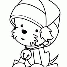 tag pitchers puppies color dog coloring pages