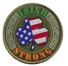 Embroidered American Flag Tactical Usa Flag Luck Of The Irish Strong Embroidered Patch