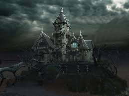 halloween background animated scary house background wallpapersafari