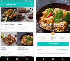 idee recette cuisine cuisine actuelle idées recettes apk version com