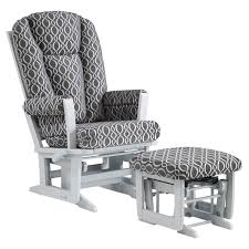 Glider Chair With Ottoman Dutailier Modern Glider With Nursing Ottoman Grey Charcoal Loops