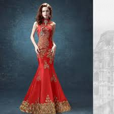 aliexpress com buy cheongsam dress mermaid traditional chinese