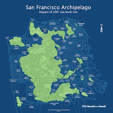 Map Of Greater San Francisco Area by San Francisco Topography