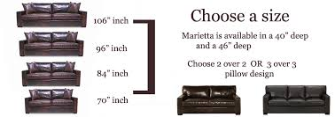extra deep leather sofa marietta maxwell extra deep leather sofa leathershoppes com