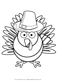 turkey coloring clipart collection