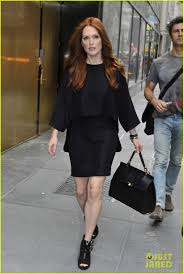 julianne moore leslie fremar u0027s fashion week dinner photo