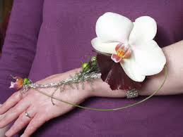 orchid wrist corsage wrist corsage