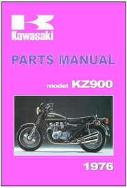 kawasaki parts manual kz900 z900 kz900 a4 1976 replacement spares
